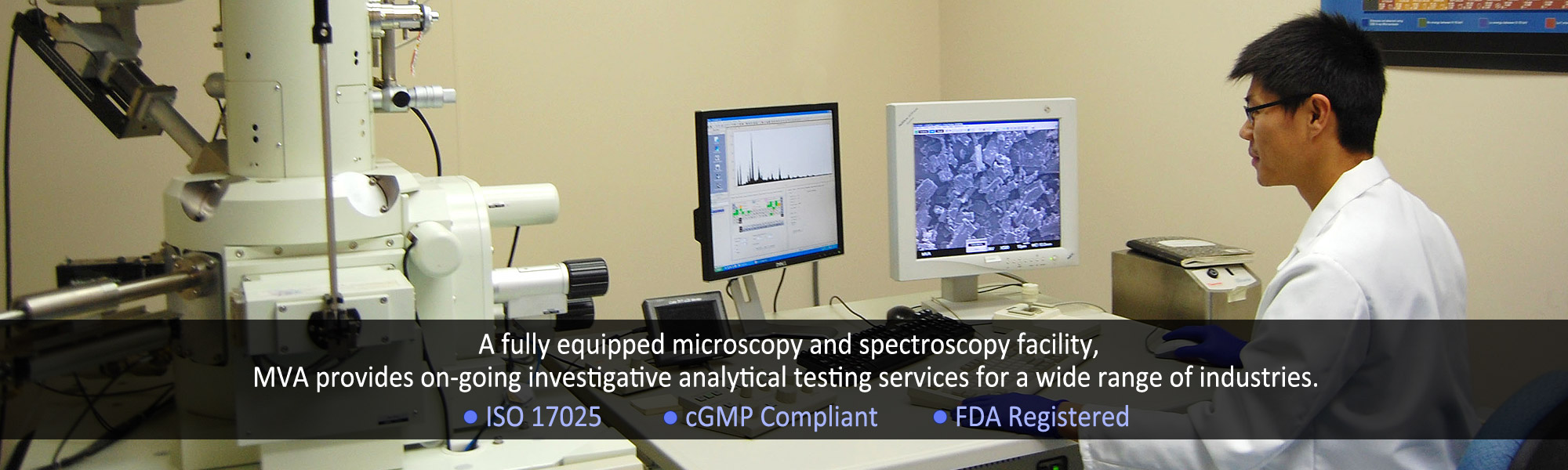 Material Identification Testing Services Particle