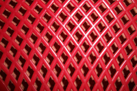 red plastic form